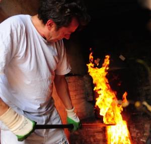 rubboli, ceramica, terzo fuoco