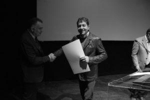 Maurizio con il professor Paolo Belardi
