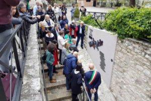 Installazione museo regionale Emigrazione; Gualdo Tadino